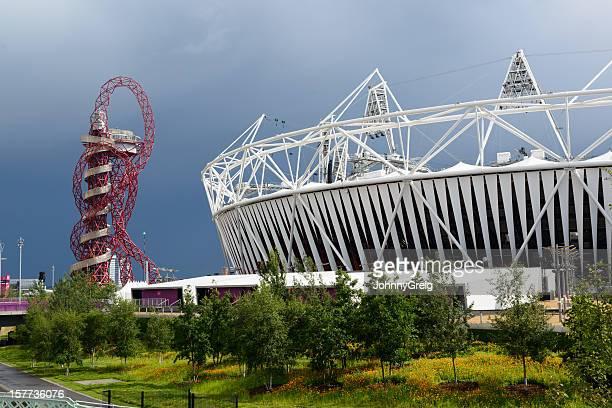 London 2012 Olympic Stadium and The Orbit