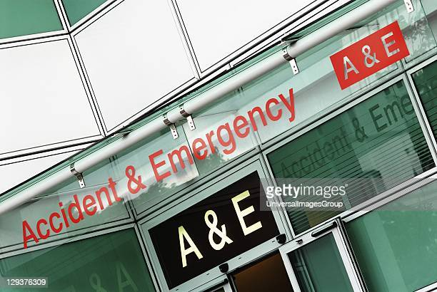 UK London Accident Emergency entrance at University College Hospital University College Hospital was founded in 1834 eight years after University...