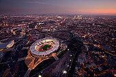 London Aerial Olympic Stadium