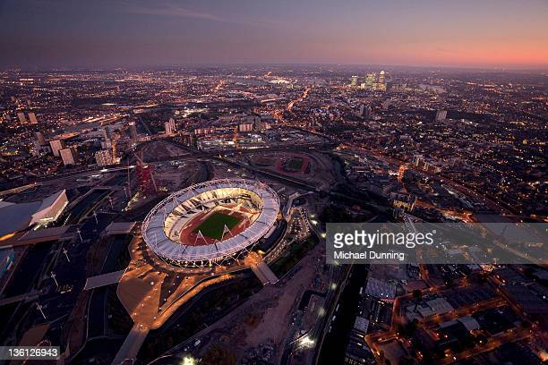 London Aerial Olympic Stadium