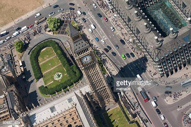 UK, London, Aerial view of Big Ben