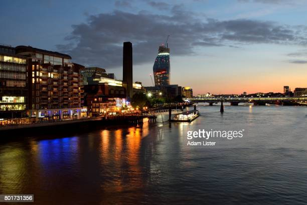 London and Thames Sunset
