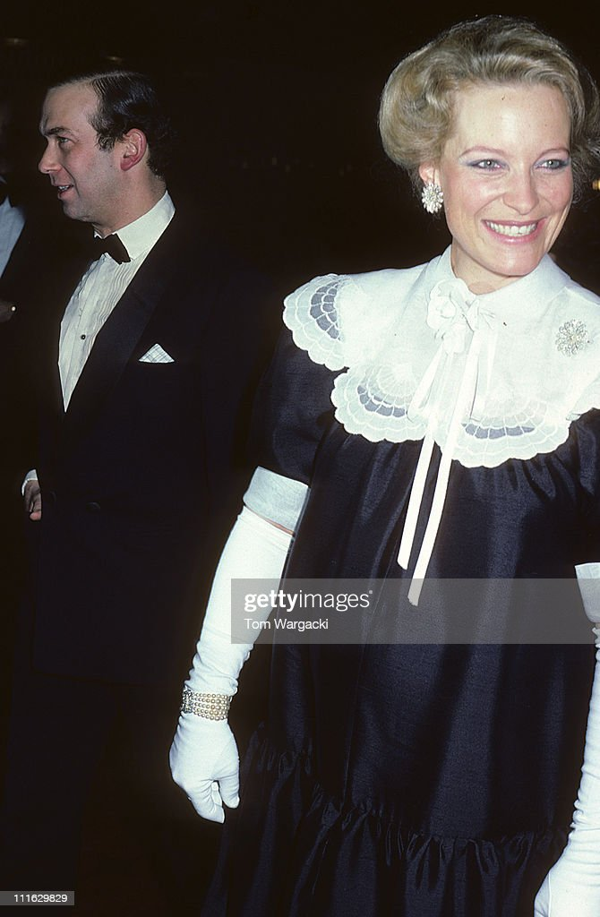 London April 15th 1981. Prince and Princess Michael of Kent at Charity Dinner