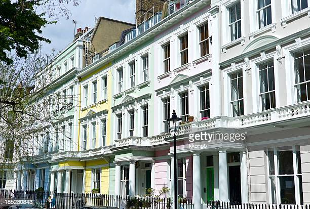 london architecture: classic townhouses in primrose hill