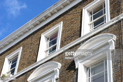 ロンドンの建築ディテール