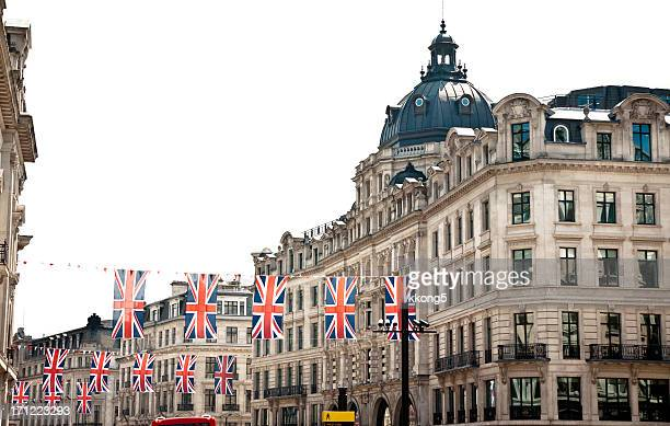 london architecture: preparation for the queen's diamond jubilee