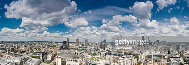 London big sky cityscape