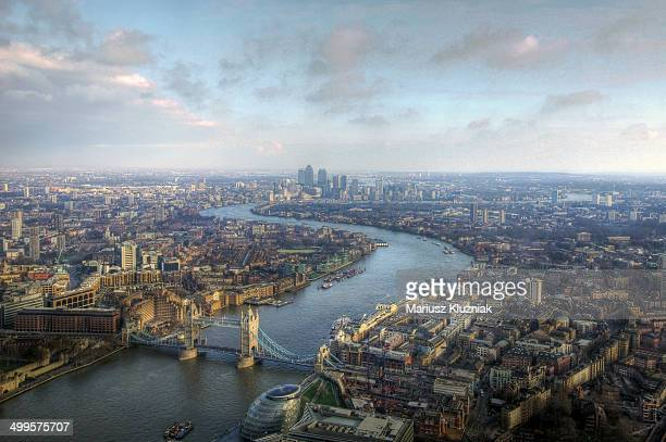 London bird view
