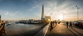 London Bridge and The Shard panorama