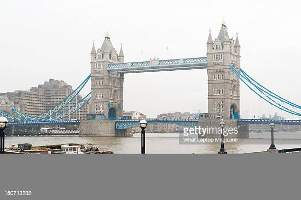 London Bridge on the River Thames London November 10 2011