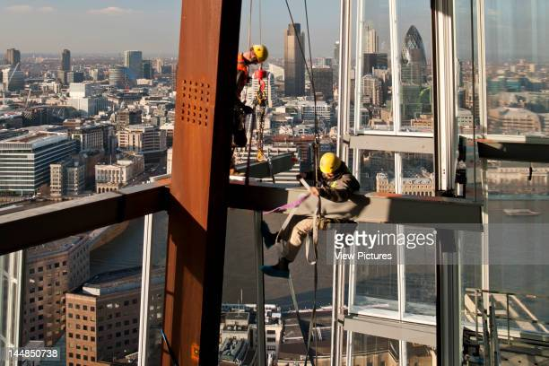 London Bridge Tower London Bridge Quarter LondonUnited Kingdom Architect Renzo Piano Building Workshop London Bridge TowerRenzo Piano Building...