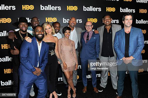 London Brown Donovan Carter John David Washington Arielle Kebbel Dule Hill Jazmyn Simon Dwayne Johnson Rob Corddry Omar Benson Miller and Troy Garity...