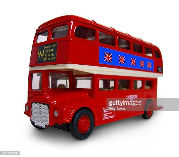 London Bus Routemaster Isolated (with clipping path)