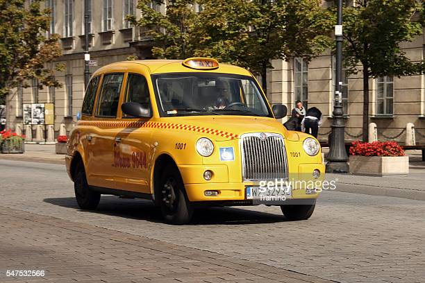 London cab on the street