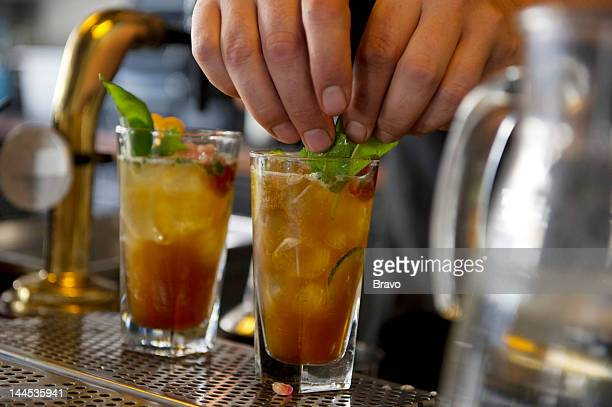 PLATES 'London Calling' Episode 101 Pictured Pimms and Lemonade