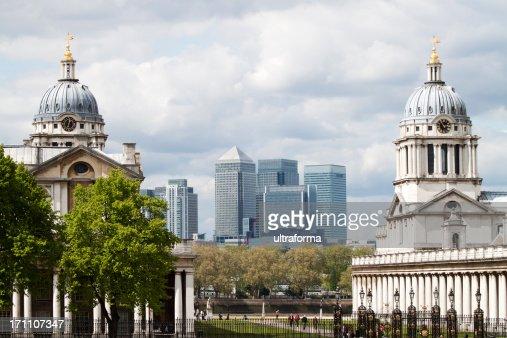 London -  Canary Wharf skyline