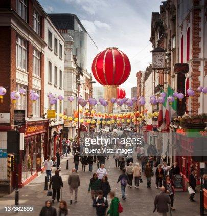 London, Chinatown.