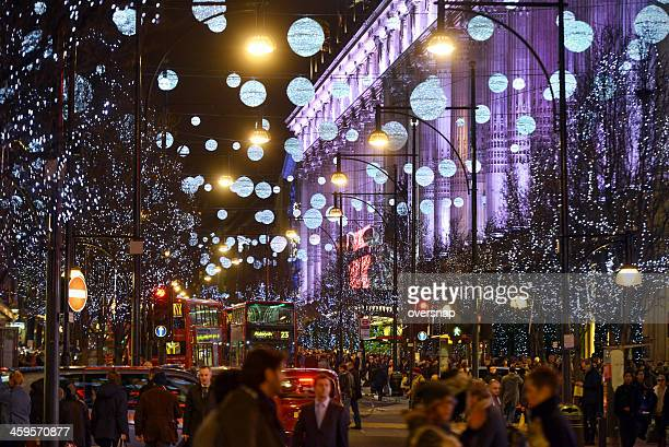 London Christmas Shoppers