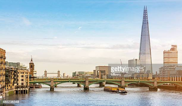 London City Skyline at River Thames