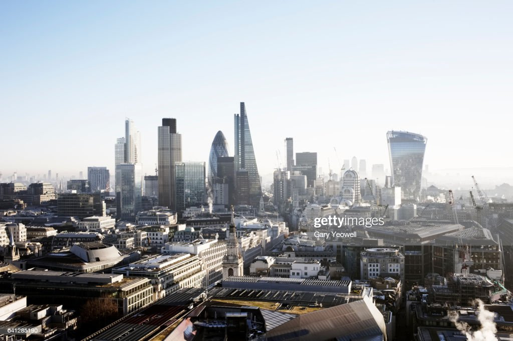 London city skyline : Stockfoto