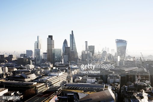 London city skyline : Foto stock
