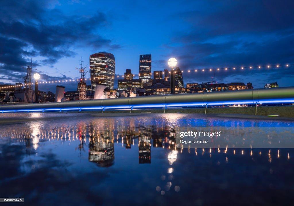 London City Skyline : Stock Photo
