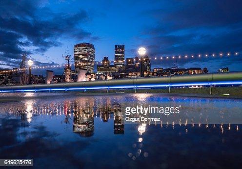 London City Skyline : Stockfoto