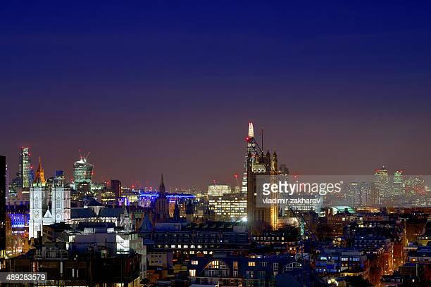 London cityscape at twilight