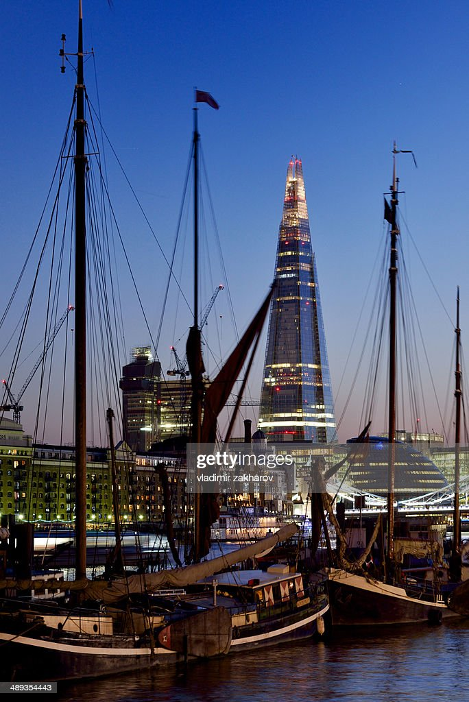 London cityscape at twilight : Stock Photo