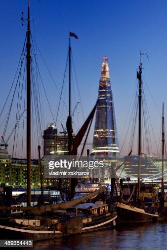 London cityscape at twilight : Stock Photo