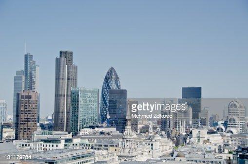 London Cityscape : Stock Photo