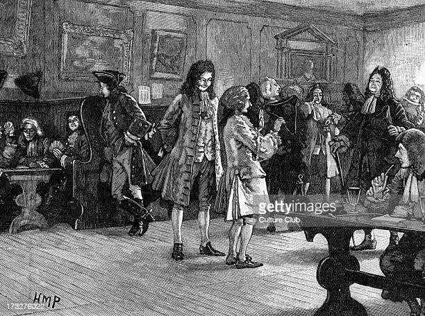 London CoffeeHouse in the Reign of Queen Anne ca 1709 18th century coffeehouses in London each attracted a particular clientele divided by occupation...