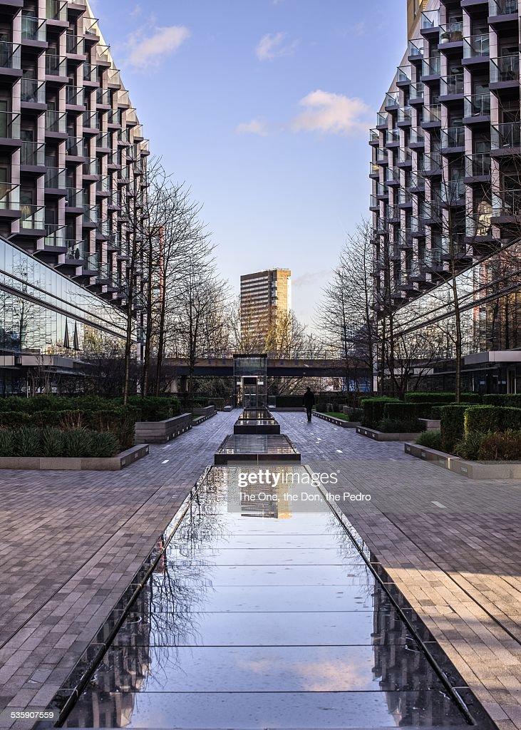 London Docklands : Stock Photo