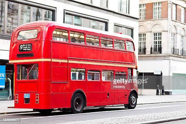 double decker bus photos et images de collection getty images. Black Bedroom Furniture Sets. Home Design Ideas