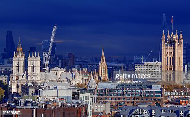 London - East View From Westminster Cathedral