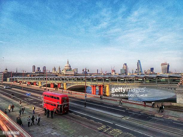 UK, London, Elevated view of cityscape
