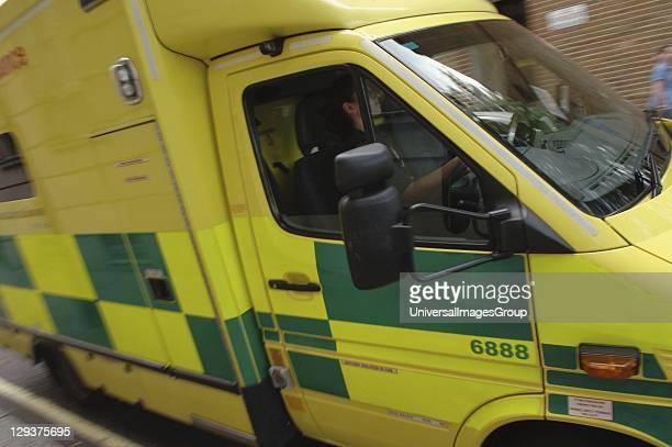 UK London emergency service ambulance