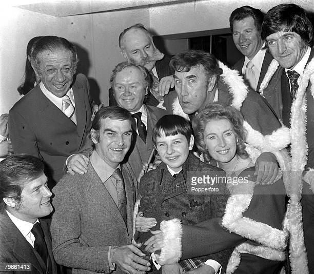 London England 14th December 1971 13 year old Richard Jones of Wales honoured for his work in raising money for charities is pictured at a London...