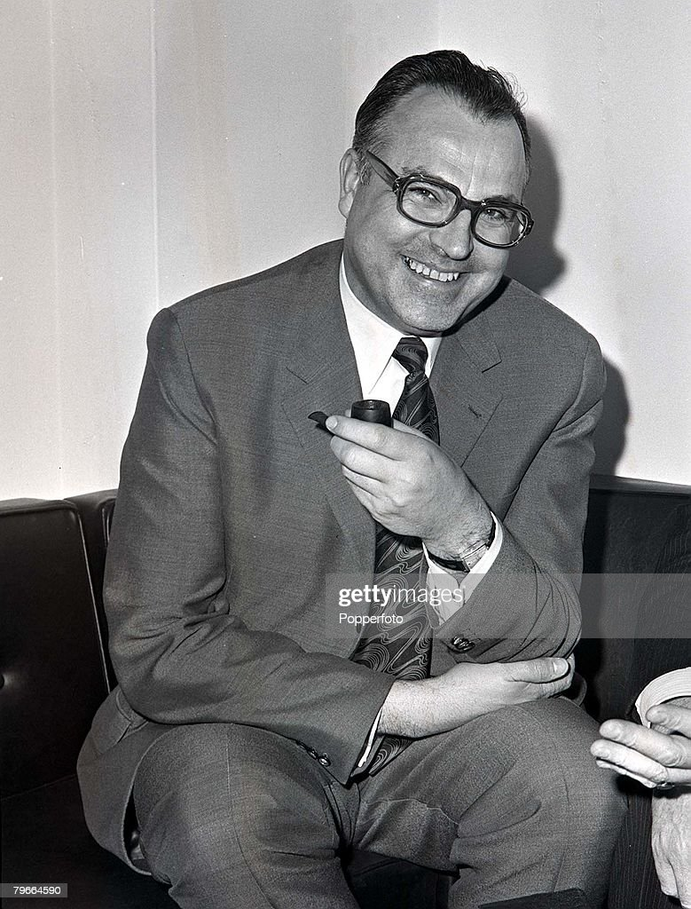 London England 16th February 1972 Dr Helmut Kohl the MinisterPresident of the RhinelandPalatinate pictured at London talks