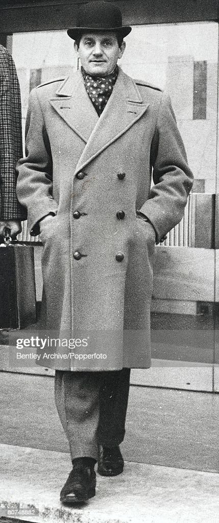 1969, London, England, Detective Superintendent 'Nipper' Read, the policeman who investigated and brought to trial the Kray twins