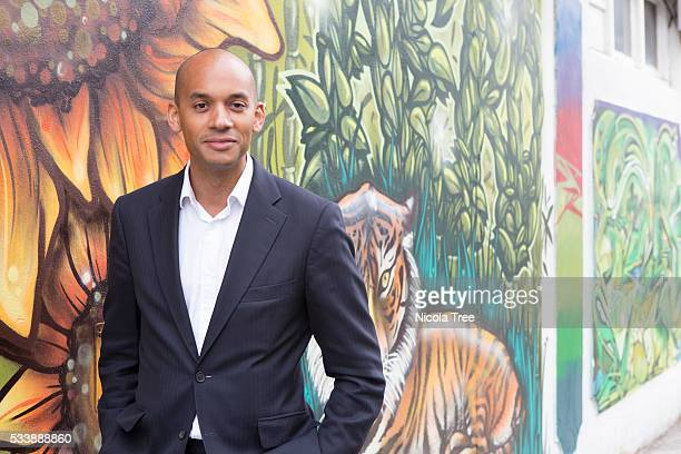 London England May 20th 2016 Labour MP Chuka Umunna working in constituency during the Brexit IN Campaign