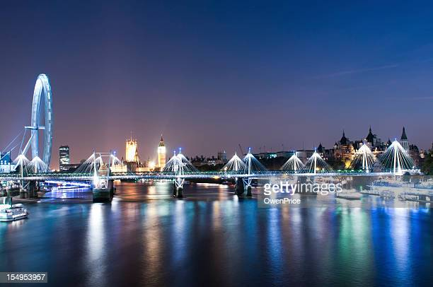London England - River Thames looking toward Westmister