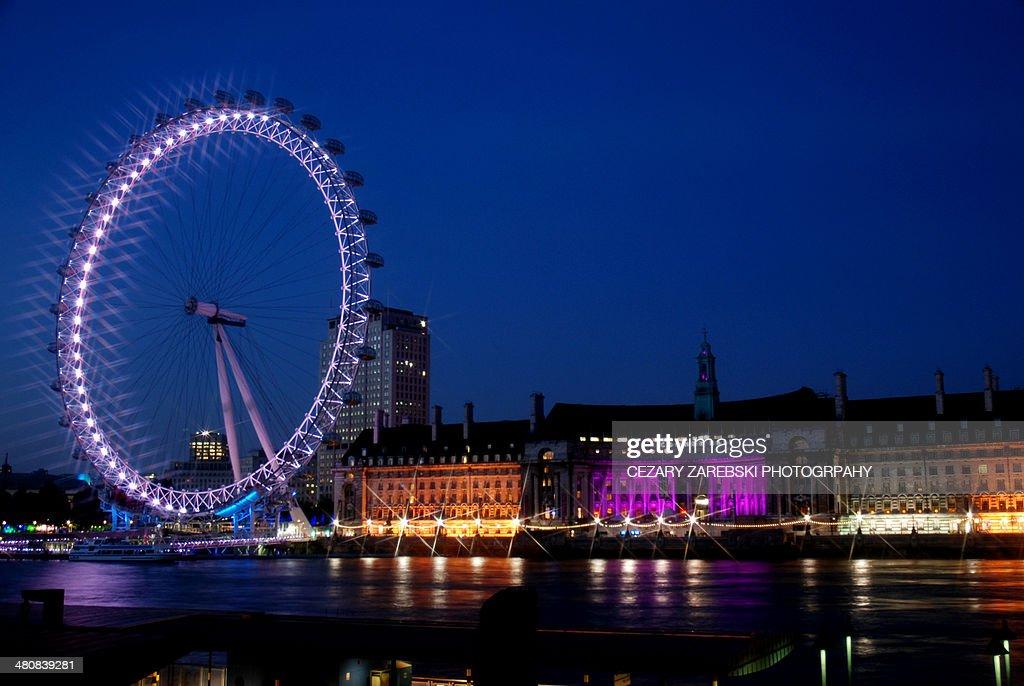 London Eye and City Hall