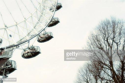 London Eye in London City : Stock Photo