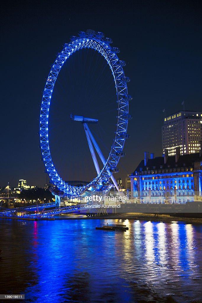 London Eye, Millennium Wheel, London. : Stock Photo