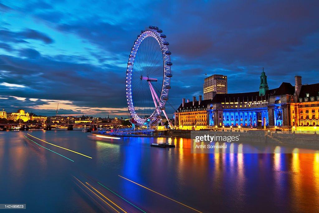 London Eye Nightscape
