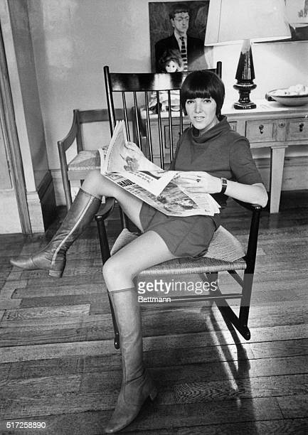 London fashion designer Mary Quant has been at the top of the tree long enough to make others look like upstarts And when it comes to miniskirts she...