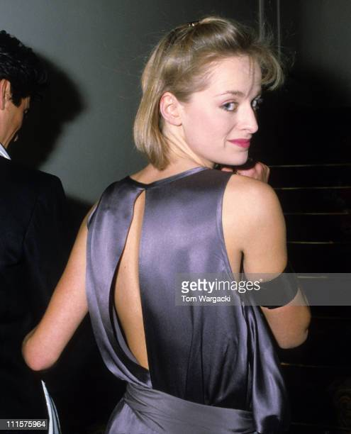 London February 15th 1984 Katie Rabett at The Ritz Hotel for fashion show