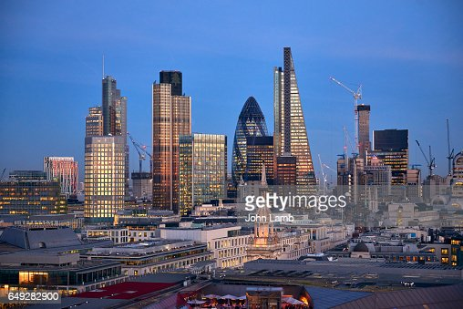 London Financial district : Stockfoto