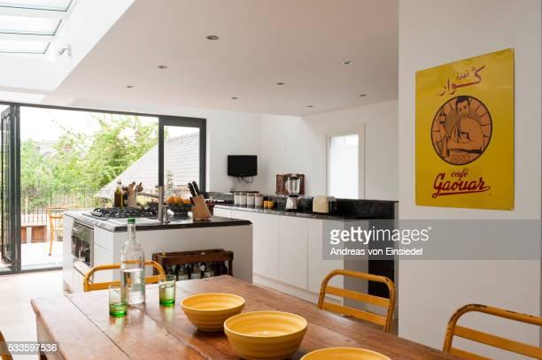 London flat of Habibi Interiors founder.